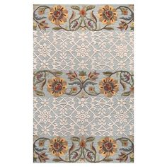 I pinned this Alsace Rug in Aqua from the Bashian Designs event at Joss and Main!