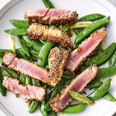 457d3b48d3 Jamie Oliver s recipe for Seared Sesame Tuna from the book of his Channel 4  series