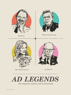Ad Legends Workshop History Class, Art History, San Francisco Bars, Ogilvy Mather, Modern Crafts, Silverstein, Ronald Reagan, Cool Countries, Best Beer