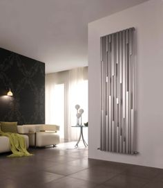 Modern radiators that give your interior a great effect - Decoration Solutions Tall Radiators, Vertical Radiators, Colores Ral, Decorative Radiators, Stainless Steel Radiators, Designer Radiator, Interior Exterior, Interior Modern, Architectural Elements