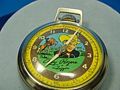 Roy Rogers 1950s pocket watch