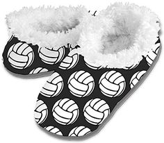 Volleyball Snoozies - Black - Large All Volleyball, Inc.