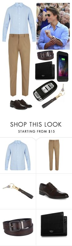 """""""Yesterday. ♥"""" by annacastrolima ❤ liked on Polyvore featuring Bottega Veneta, Joseph, Royce Leather, Kenneth Cole, Urban Pipeline, Mulberry, Mophie, men's fashion, menswear and ootd"""