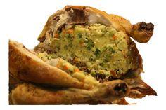 La gallina con il riso è un secondo piatto tipico siciliano, adatto per le festività, eccezione all'utilizzo delle galline solo per produrre uova in Sicilia