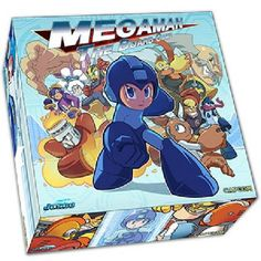 Mega Man The Board Game Mega Man The Board Game created and licensed by Jasco Games brings all the excitement and fun found in the classic video game series to the tabletop Created for the 25th anniversary of the character http://www.MightGet.com/march-2017-2/mega-man-the-board-game.asp