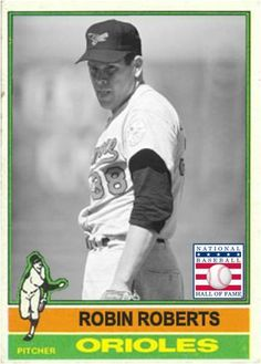 Robin Roberts Baltimore Orioles