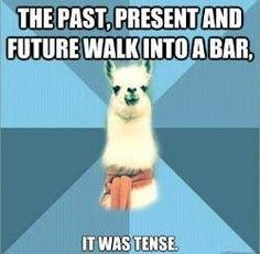 Memes Funny Espanol English Ideas For 2019 Grammar Jokes, Chemistry Jokes, Science Jokes, Grammar Tenses, Bad Grammar, New Memes, Funny Memes, Hilarious, True Memes