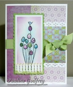 Stamping bella - eggy bouquet