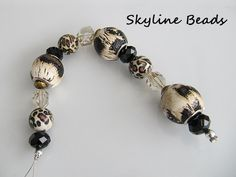Jesses James 7 inch Bead Strand / Fun Family / by SkylineBeads, $3.65