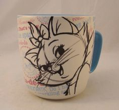 Disney Aristocats Marie Coffee Mug or Tea Mug by BlueLacyNostalgia, $24.99