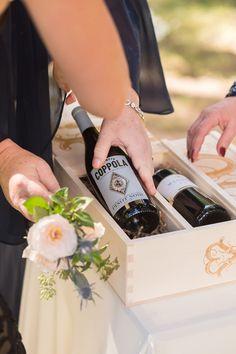 Bye bye unity candle… hello anniversary wine box — Artificer Wood Works