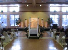 Onsite Ceremony Floor To Ceiling Windows, Banquet, Wedding Ideas, Furniture, Home Decor, Homemade Home Decor, Home Furnishings, Decoration Home, Wedding Ceremony Ideas