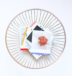 DIY Two-Tone Photo Bowl | The Crafted Life