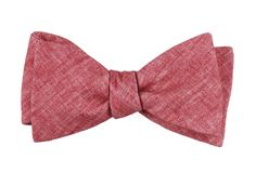 Freehand Solid Bow Ties - Red | Ties, Bow Ties, and Pocket Squares | The Tie Bar