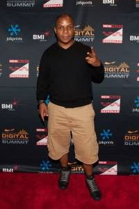 Vin Roc of Naughty by Nature on Opening Night #NMS2013