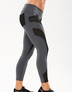 New for Summer 2014 the Glow Mesh Leggings by Body Angel Activewear are a uniquely styled pant for the active female. Wear to the gym, yoga or running errands!
