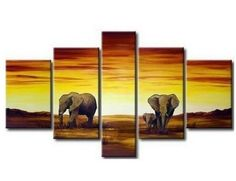 100% Hand Painted Modern Oil Painting on Canvas Wall Art Home Decoration 5 Piece Canvas Art Unframe and Unstretch by Gaoya, http://www.amazon.com/dp/B009YOJJH8/ref=cm_sw_r_pi_dp_fRKZrb18SS1Q7