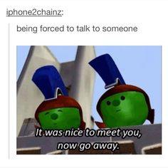 I LOVE Veggie Tales hahaha