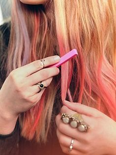 Free People Ombre Hair Chalk, legal gostei da ideia...