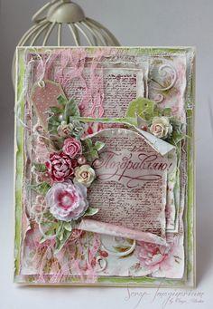 Note:  Paper Roll                         Scrap-Imaginarium: Розовая весенняя