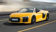 2017 Audi Spyder Pricing Won't Make Its Competitors Happy - Super Cars Corner Audi R8 V10, Audi Sport, Dream Cars, Super Cars, Vehicles, Corner, News, Awesome, Happy