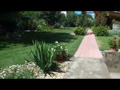 vidéki kerti stílus, ilyen volt ilyen lett kertépítés, luxus kert, falusi kerti hangulat, gardendesign, ápolt szép kert öltetek Sidewalk, Youtube, Luxury, Side Walkway, Walkway, Youtubers, Walkways, Youtube Movies, Pavement