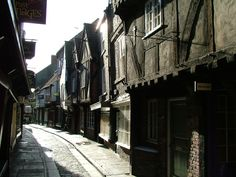 Among the buildings of the Shambles is a shrine to Saint Margaret Clitherow, known to some as the Pearl of York. Description from abeautifulbook.wordpress.com. I searched for this on bing.com/images