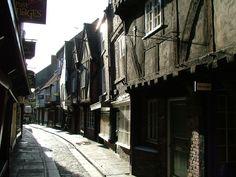 medieval street in York