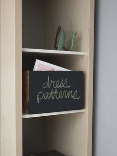 Love this DIY idea for turning old wine boxes into chalkboard labelled storage bins! For more tips and ideas for organizing your home and family visit https://www.facebook.com/OrganizingYourHome you may find something you 'LIKE'.