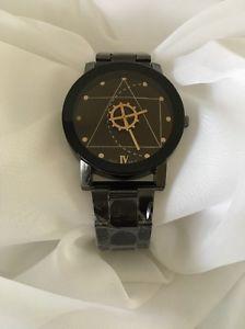 Relogio Masculino Men's Black Fashion Non Numeric Compass Face Watch | eBay