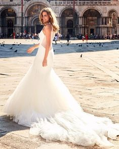 Wedding Dresses:   Illustration   Description   Look at how beautiful this Nuala dress fits on this bride! See more @Pronovias here: lovewc.me/Nuala    -Read More –   - #WeddingDresses https://adlmag.net/2017/12/24/wedding-dresses-inspiration-look-at-how-beautiful-this-nuala-dress-fits-on-this-bride-see-more-pronovias-h/