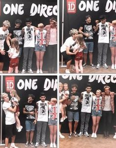 IM DONE IM DEAD GOODBYE<<< Aww look at the way Louis is looking at niall & that little girl. ♡