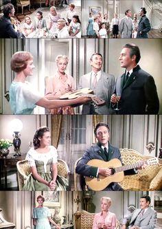 1965 The Sound of Music scene
