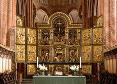 Roskilde, Sjælland, Domkirke, altar | da groenling