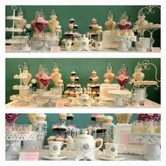 """Photo 1 of 13: PINK & WHITE VINTAGE / Bridal/Wedding Shower """"MAREES BRIDAL SHOWER""""   Catch My Party"""