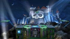 Super Smash Bros Stage, Wii U