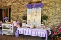 #princess party - #Cinderella  #tablescape
