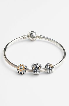 PANDORA Charm Bangle Bracelet | Nordstrom