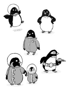 Space Penguins.