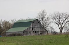 Anthony Cornett's photo of a Missouri barn.