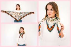 Gal Meets Glam 8 Ways To Tie A Scarf - Idea 1, Gucci scarf