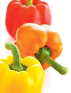 Red Bell Peppers have more than double the immunity-boosting Vitamin C of an Orange and are a rich source of heart-healthy beta-carotene.