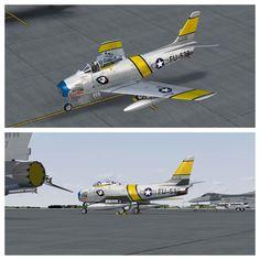 FU-539 Sabre 'Sweet Rose' F86-F Korean War Cc Wally Yocum MilViz skin zsoltquack Korean War, Scale Models, Air Force, Fighter Jets, Modeling, Aircraft, Rose, Sweet, Dioramas