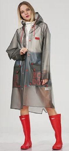Vinyl Raincoat, Pvc Raincoat, Plastic Raincoat, Country Wear, Rain Coats, Rain Wear, Capes, Pilot, Fancy