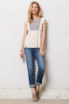 Stitched Anthea Top - Anthropologie.com