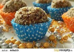 Medové kuličky z perníků recept - TopRecepty.cz Graham Crackers, Rum, Muffin, Food And Drink, Breakfast, Balls, Morning Coffee, Muffins, Rome