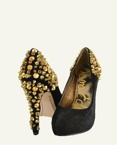 Sam Edelman gold stud shoes