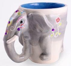 Creative Elephant Coffee Mug
