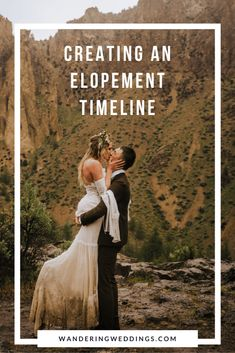 This wedding timeline will make planning your elopement that much easier. Wedding planning can be stressful and this timeline will keep you organized and on track. Elopement Party, Elopement Reception, Elope Wedding, Wedding Couples, Dream Wedding, Wedding Ideas, Wedding Posing, 1920s Wedding, Wedding Pictures