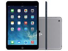 """iPad Mini 2 Apple 32GB Cinza Espacial 4G Tela 7,9"""" - Retina Câmera 5MP + Frontal Processador M7 Bivolt - 32 GB"""